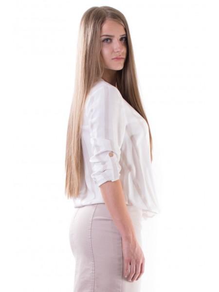 Дамска Раирана Блуза от Вискоза 16201